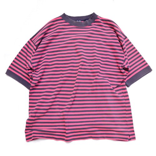 GAP Striped Tee Pink