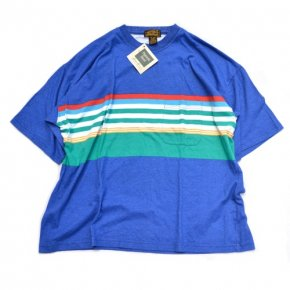 Eddie Bauer Striped Tee Blue