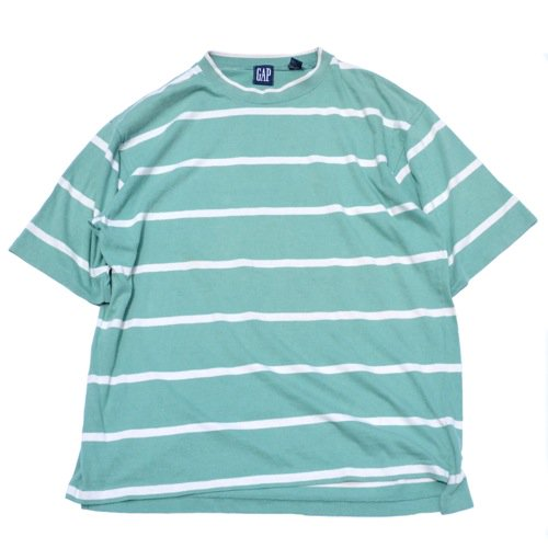 GAP Striped Tee Mint Green