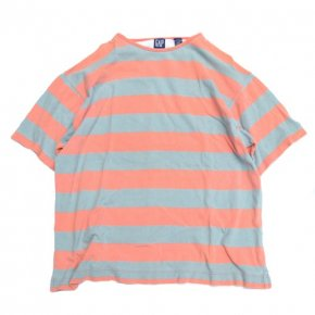 GAP Striped Tee Salmon Pink