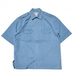 Banana Republic Safari Shirt Navy
