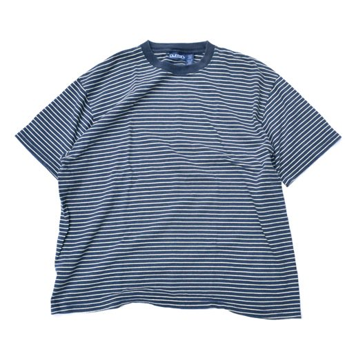 Puritan Striped Tee Navy