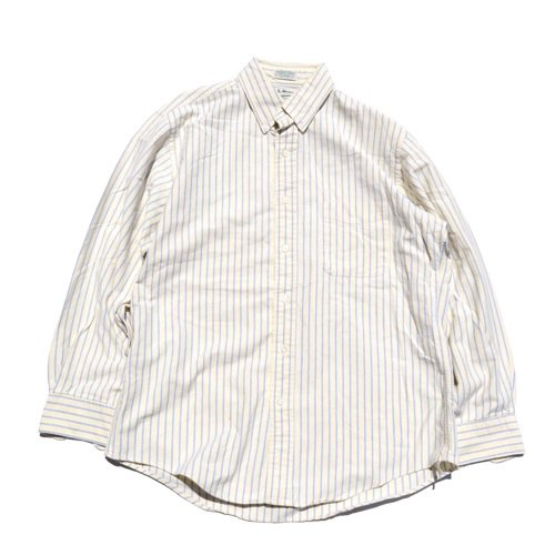 L.L.Bean Striped Button Down Shirt