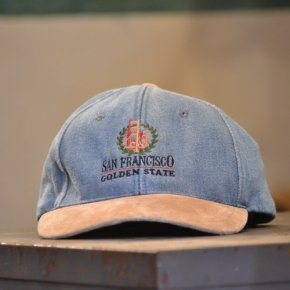San Francisco Strapback Hat Denim