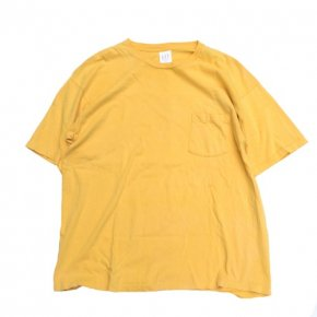 GAP Pocket Tee Yellow