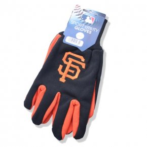 San Francisco Giants Glove Black Orange