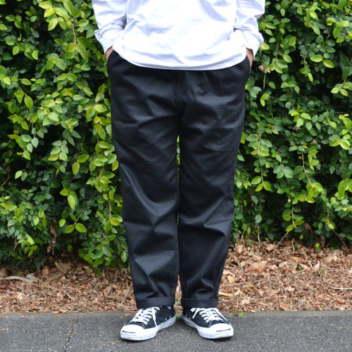 SIESTA(シエスタ)ORIGINAL Cotton Easy Pant Black