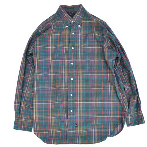 IKE BEHAR Plaid Button Down Shirt