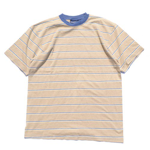 Puritan Striped Tee Beige