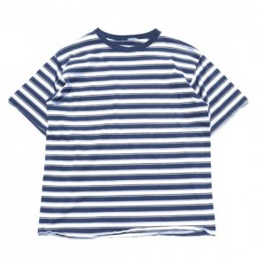 Unknown Striped Tee Navy