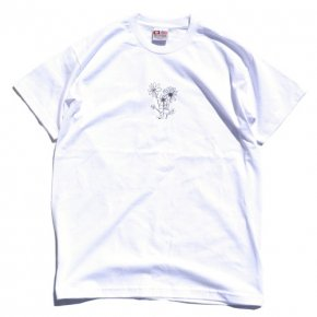 SIESTA(シエスタ)Original Sunset Flowers Tee White