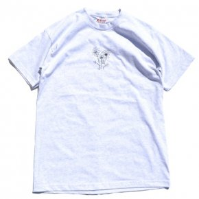 SIESTA(シエスタ)Original Sunset Flowers Tee Ash