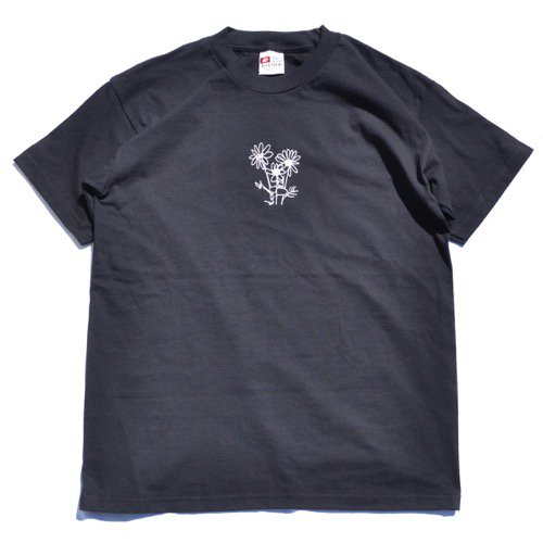 SIESTA(シエスタ)Original Sunset Flowers Tee Black