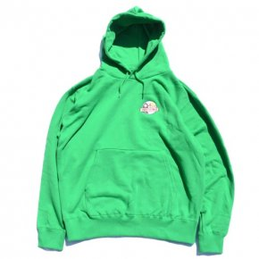 SIESTA(シエスタ)Original Sunset Flowers Hoodie Kelly Green