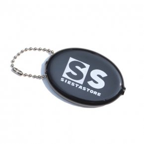 SIESTA(シエスタ)Original CN Coin Pouch Black