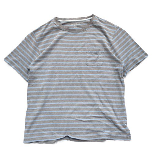 Eddie Bauer Striped Pocket Tee