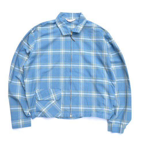 Puritan Plaid Harrington Jacket
