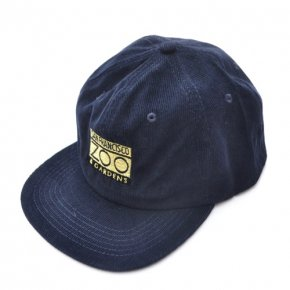 Bay Area Gift Shop SF Zoo Corduroy Cap Navy