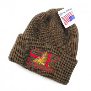 Bay Area Gift Shop SF Watch Cap Coyote Brown