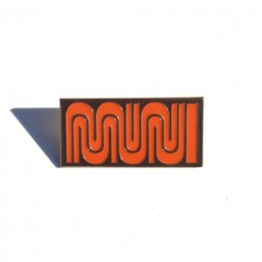 San Francisco Muni Enamel Pin