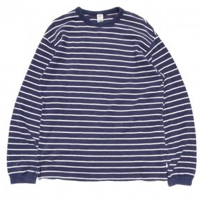 GAP Striped Long Sleeve Thermal Tee