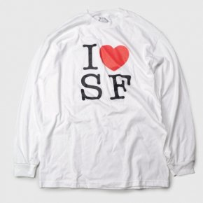 Bay Area Gift Shop I Love SF Long Sleeve