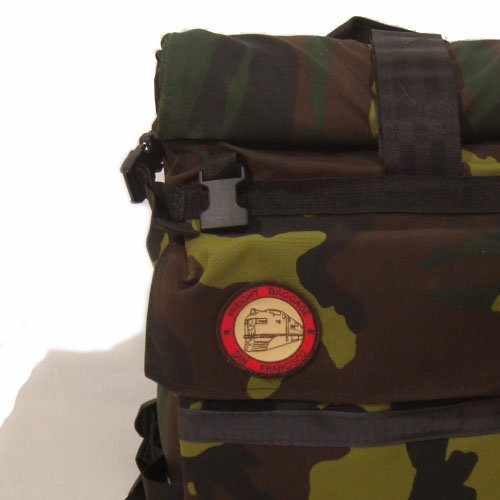 Freight Baggage(フレイトバゲージ) RollTop Medium Camouflage