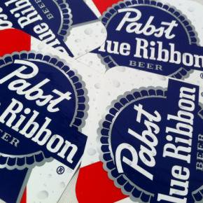 Pabst(パブスト)Blue Ribbon Sticker Deadstock