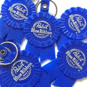 Pabst(パブスト)Blue Ribbon Keychains Deadstock