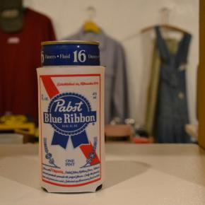 Pabst(パブスト)Blue Ribbon Beer Koozie Long Deadstock