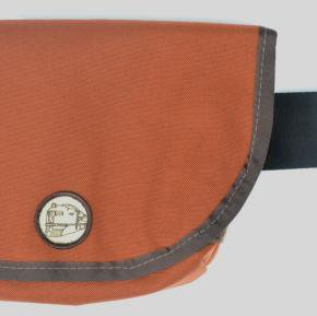 Freight Baggage(フレイトバゲージ) Large Hip Pack Dark Orange