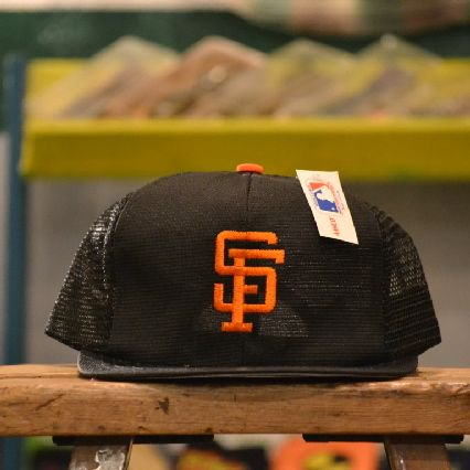 90's San Francisco Giants(サンフランシスコジャイアンツ) Trucker Cap Deadstock