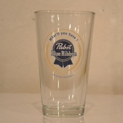 Pabst(パブスト)Blue Ribbon Glass Deadstock