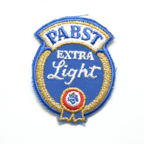 Pabst(パブスト)ExtraLight Beer Patches