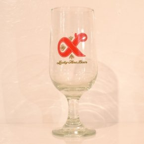 Lucky Lager(ラッキーラガー) Beer Glass