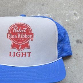 Pabst(パブスト)Blue Ribbon Light Trucker Cap