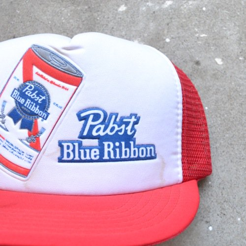 Pabst(パブスト))Blue Ribbon Trucker Cap Deadstock