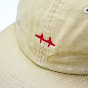 GNAR Bridge Strapback Hat Beige