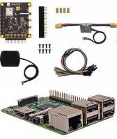Raspberry Pi 3B & NAVIO2 フライトコントローラー セット