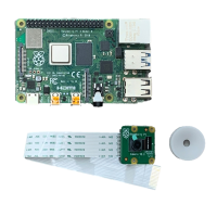 Raspberry Pi 4 Model B(4GB)& Camera Module V2