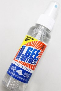 SNEAKER CLEANER O.GEE BRIGHTNESS SPRAY 【AST】