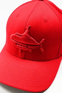 YSM EXCLUSIVE FLEXFIT LOGO CAP 【RED】