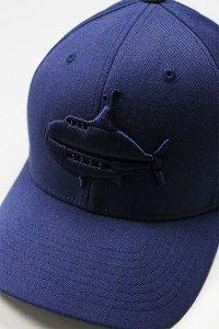 YSM EXCLUSIVE FLEXFIT LOGO CAP 【NVY】