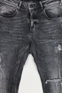 <img class='new_mark_img1' src='//img.shop-pro.jp/img/new/icons16.gif' style='border:none;display:inline;margin:0px;padding:0px;width:auto;' />GABBA DESTROY SLIM FIT DENIM PANTS REY  【GRY】