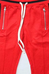 <img class='new_mark_img1' src='//img.shop-pro.jp/img/new/icons16.gif' style='border:none;display:inline;margin:0px;padding:0px;width:auto;' />mnml TRACK PANTS 【RED/BLK】