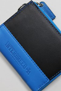 <img class='new_mark_img1' src='//img.shop-pro.jp/img/new/icons16.gif' style='border:none;display:inline;margin:0px;padding:0px;width:auto;' />INTERBREED LEATHER WALLET 【BLK/BLU】