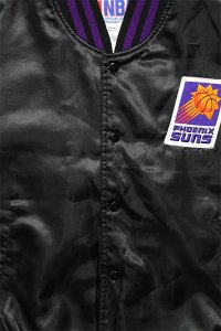 VINTAGE NBA STADIUM JACKET SUNS 【BLK】
