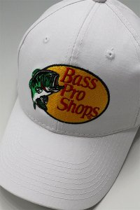 <img class='new_mark_img1' src='https://img.shop-pro.jp/img/new/icons16.gif' style='border:none;display:inline;margin:0px;padding:0px;width:auto;' />BassProShops LOGO SNAP BACK CAP 【WHT】
