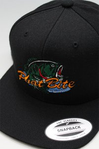 PHATBITE from INTERBREED RANKER LOGO SNAP BACK CAP 【BLK】
