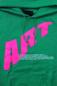 <img class='new_mark_img1' src='https://img.shop-pro.jp/img/new/icons16.gif' style='border:none;display:inline;margin:0px;padding:0px;width:auto;' />ROYAL.2 HOODIE ART【GRN/PINK】